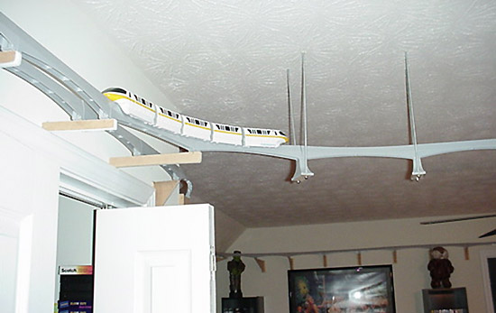 Monorail Modeling Page Crouse House