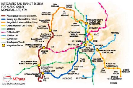 Disney World Monorail Route