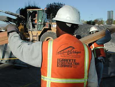 Las Vegas Construction January 2 3 2002