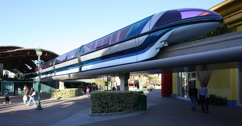 Disneyland Mark Vii Monorail Photo Essay Page Three Of Nine