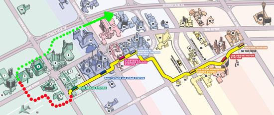 las vegas monorail map pdf