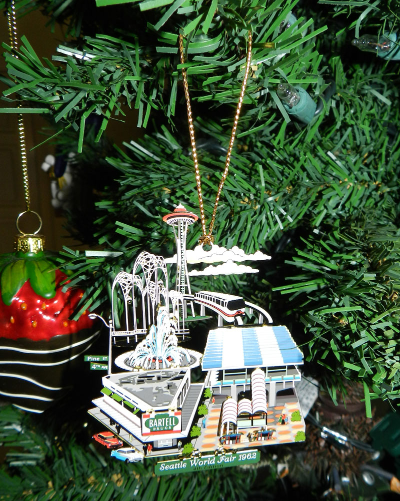 Seattle Ornament 1
