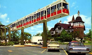 Novelty Monorails Busch Gardens Tampa